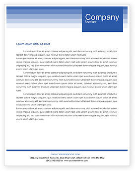 Navy Letterhead Template, Layout for Microsoft Word, Adobe ...