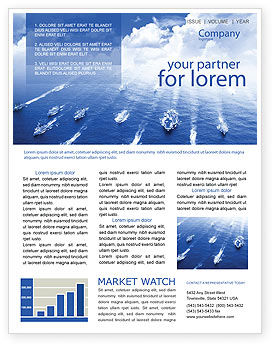 Navy Newsletter Template, 01614, Military U2014 PoweredTemplate.com  News Letter Formats