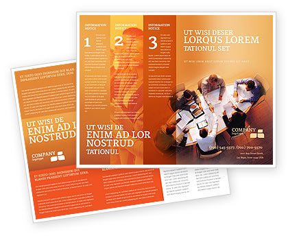 Team Work Brochure Template