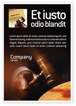Legal: Plantilla de publicidad - legal #01625