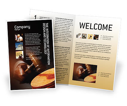 Legal: Legal Brochure Template #01625