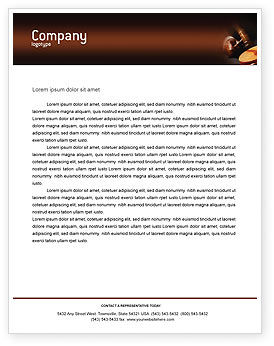 Legal Letterhead Template, 01625, Legal U2014 PoweredTemplate.com  Microsoft Word Legal Template