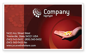 Medical: Pharmacies Business Card Template #01637