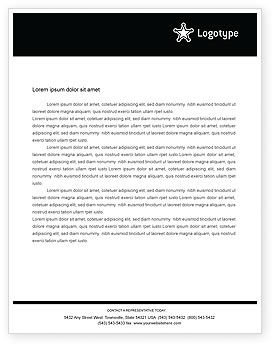 Legal: Deputy Sheriff Letterhead Template #01641