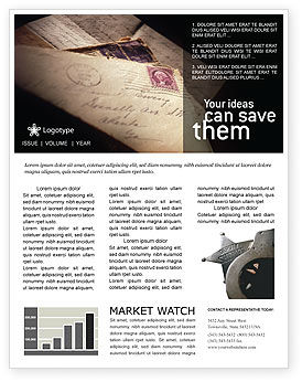 Legal: Deputy Sheriff Newsletter Template #01641