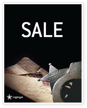 Legal: Deputy Sheriff Sale Poster Template #01641
