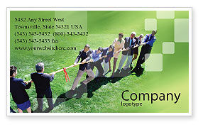 Business Concepts: Problem Solution Business Card Template #01645
