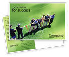 Business Concepts: Problem Solution Postcard Template #01645