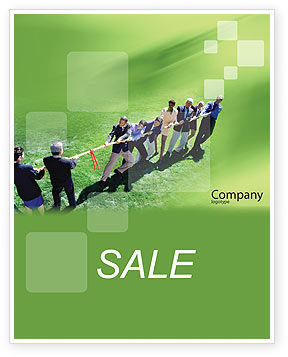 Business Concepts: Problem Solution Sale Poster Template #01645