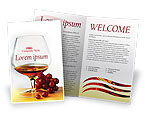 Food & Beverage: Plantilla de folleto gratis - brandy #01692