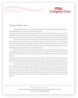 Food & Beverage: Brandy Letterhead Template #01692