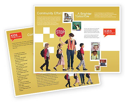 Education & Training: Social Education Brochure Template #01704