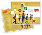 Education & Training: Sociale Educatie Brochure Template #01704