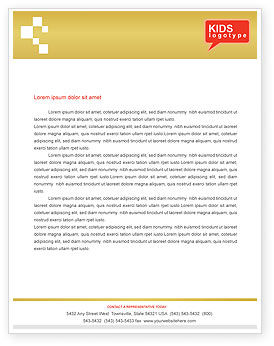 Education & Training: Social Education Letterhead Template #01704