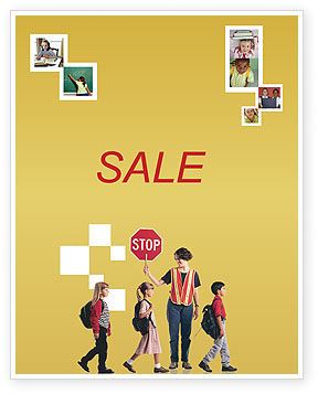 Social Education Sale Poster Template, 01704, Education & Training — PoweredTemplate.com