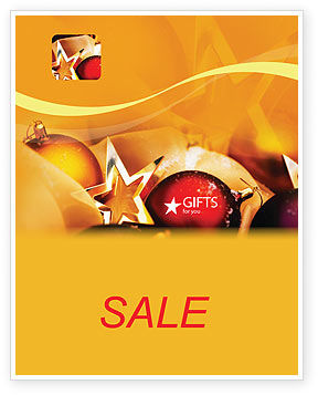 Holiday/Special Occasion: New Year Decorations Sale Poster Template #01715