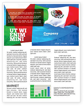 mexican flag newsletter template