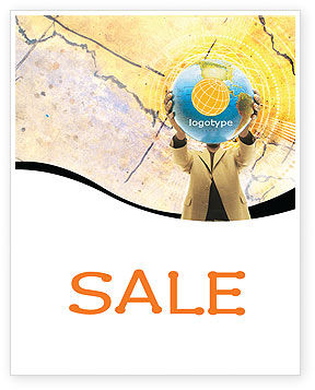 World Discovery Sale Poster Template