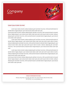 Utilities/Industrial: Tools Box Letterhead Template #01734