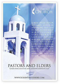 Religious/Spiritual: Belfry Ad Template #01739