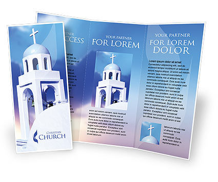 Free Brochure Templates Design and Layouts – Religious Brochure