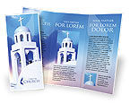 Religious/Spiritual: Modèle de Brochure gratuit de beffroi #01739