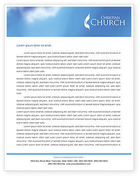 Belfry letterhead template layout for microsoft word for Christian letterhead templates free