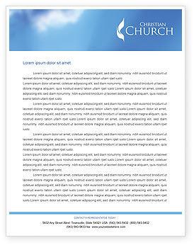Belfry Letterhead Template, 01739, Religious/Spiritual — PoweredTemplate.com