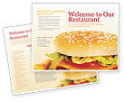 Food & Beverage: Modèle de Brochure de fast food #01741