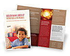 Education & Training: Basisopleiding Brochure Template #01743