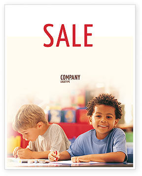 Education & Training: Basic Education Sale Poster Template #01743