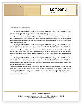 Construction: Building Architecture Letterhead Template #01748