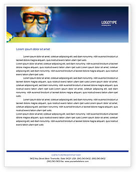 Technology, Science & Computers: Technology Development Letterhead Template #01750