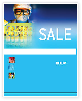 Technology, Science & Computers: Technology Development Sale Poster Template #01750