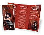 Art & Entertainment: Modello Brochure - Coppie di dancing #01762