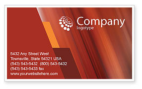 Art & Entertainment: Dancing Couple Business Card Template #01762