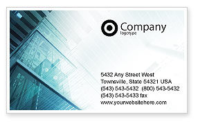 Construction: Elevator Business Card Template #01763