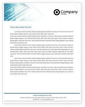 Construction: Elevator Letterhead Template #01763