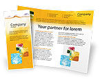 Food & Beverage: Cocktail Party Brochure Template #01765