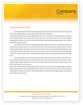 Cocktail Party Letterhead Template