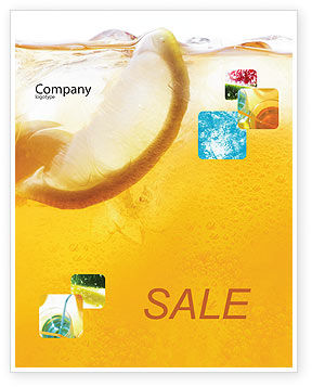 Cocktail Party Sale Poster Template, 01765, Food & Beverage — PoweredTemplate.com