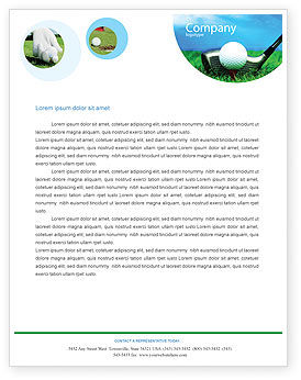 Sports: Modello Carta Intestata - Golf #01768