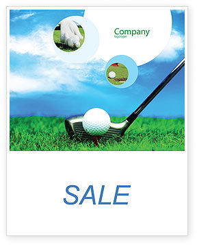 Sports: Golf Sale Poster Template #01768