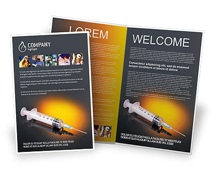 Shot Brochure Template