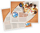 Education & Training: Primary School Geography Lesson Brochure Template #01778