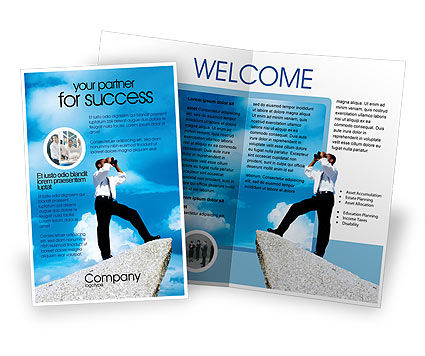 Business Concepts: Future Perspective Brochure Template #01788