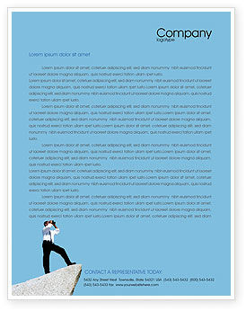 Business Concepts: Future Perspective Letterhead Template #01788