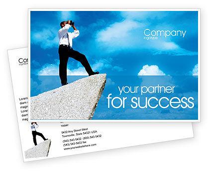 Future Perspective Postcard Template, 01788, Business Concepts — PoweredTemplate.com