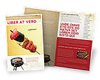 Food & Beverage: Barbeque Gratis Brochure Template #01794