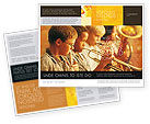 Art & Entertainment: Music School Brochure Template #01806